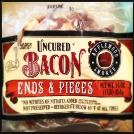 bacon ends and pieces