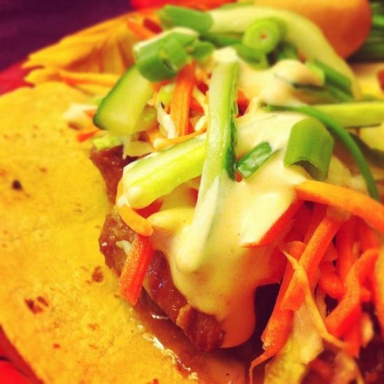 Braised Pork Belly Tacos