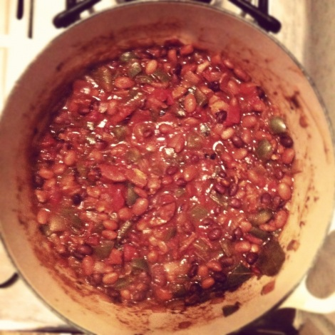 Bacon Bean & Bells Chili