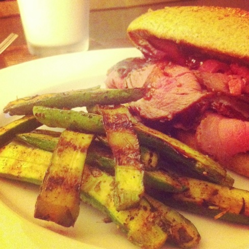 Knockoff Firestone Grill Tri-Tip Sandwich