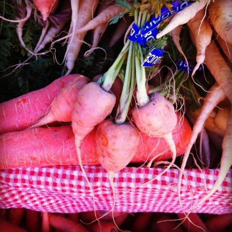 Carrot Nubbins Ferry Building Farmers Market