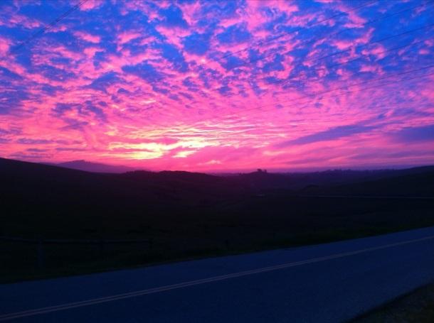 Sunset San Luis Obispo