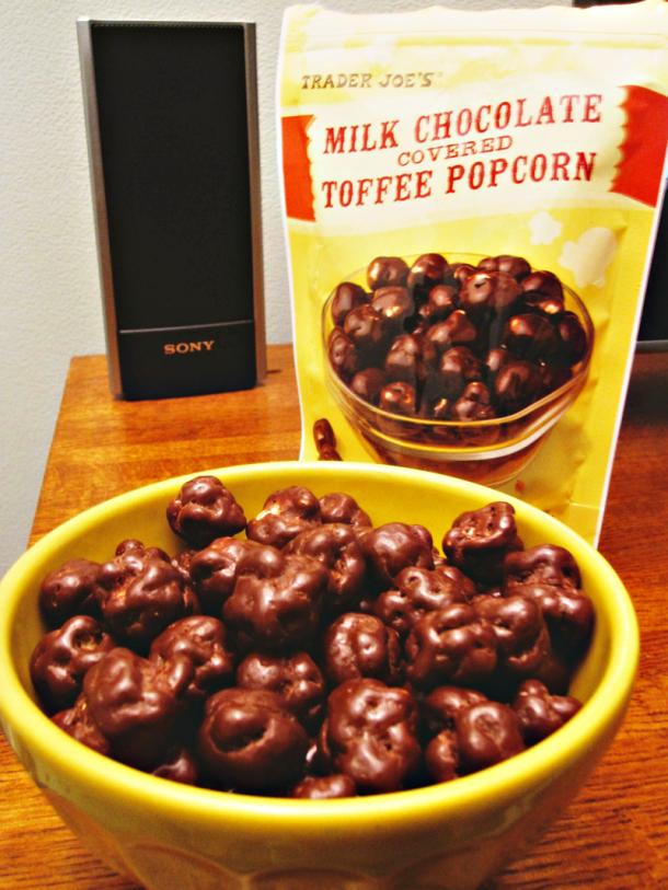 Trader Joe's Milk Chocolate Toffee Popcorn