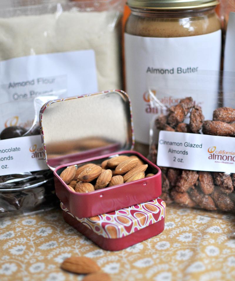 Almond tins!