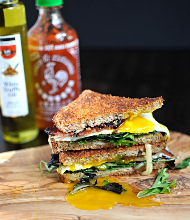 The Ultimate Bacon & Egg Sandwich   the pig & quill