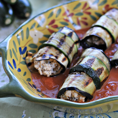 Eggplant Involtini - Earth Day Roundup | the pig & quill