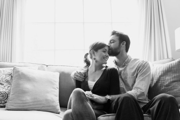 Em & Chris | the pig & quill (photo by Cristin More)