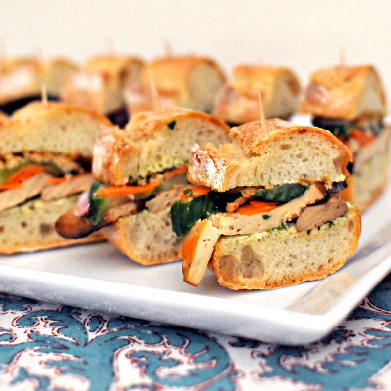 Tofu Banh Mi - Earth Day Roundup | the pig & quill