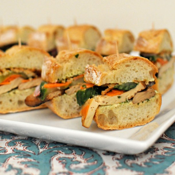 Rowe Trunk Show Catering - Tofu Banh Mi