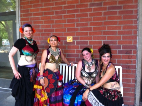 Manasa Belly Dancers - Whole Earth Festival