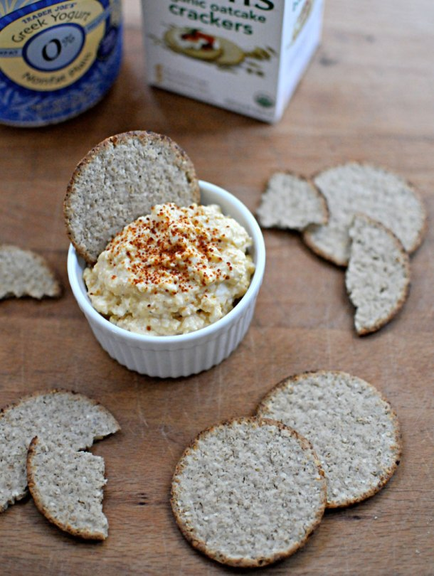 Spicy Deviled Egg Dip | the pig & quill