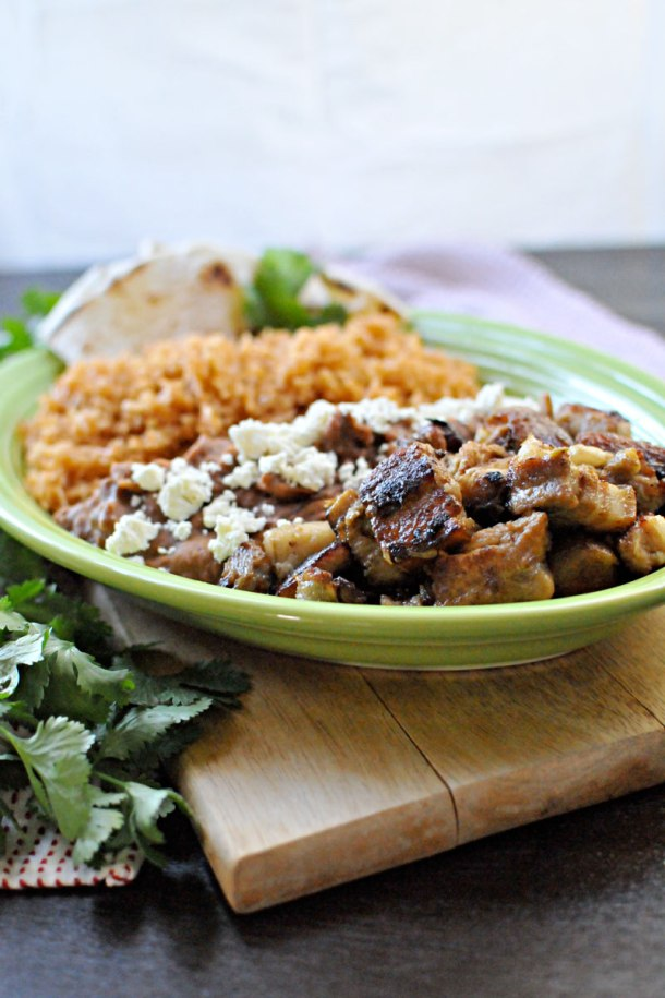 Crispy Carnitas-Style Pork Belly & Spanish Rice | the pig & quill
