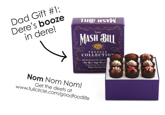 Vosges Mash Bill Truffles - Father's Day Gift Guide