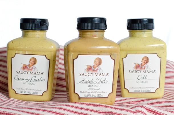 Saucy Mama Mustard Trio