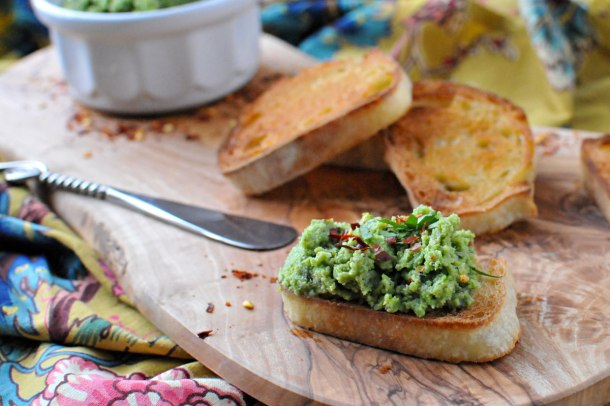 Minted Spring Pea Paté | the pig & quill