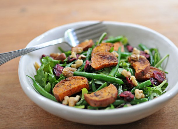 Sweet Potato & Green Bean Salad with Maple-Mustard Dressing | the pig ...