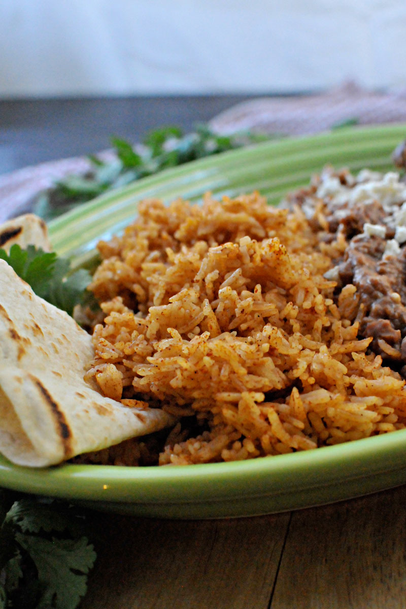 Foolproof Spanish Rice   the pig & quill