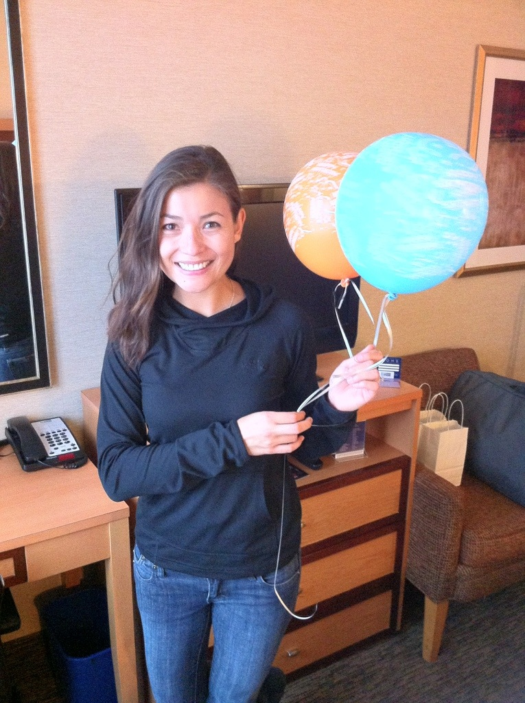 NYC Day 1: Birthday Balloons! [the pig & quill]