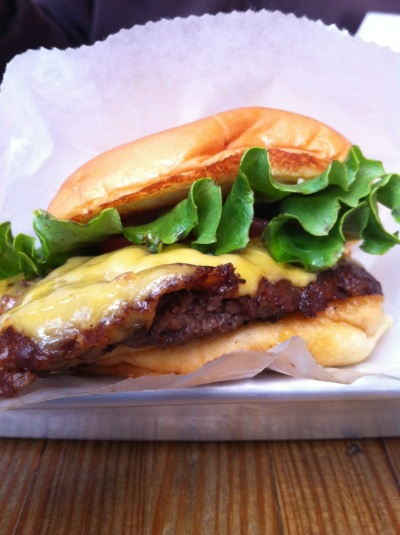 NYC Day 2: Shake Shack Shackburger [the pig & quill]