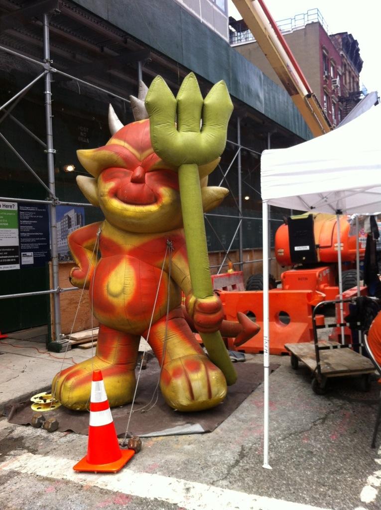 NYC Foodie Trip Day 3 - Hells Kitchen Flea Market