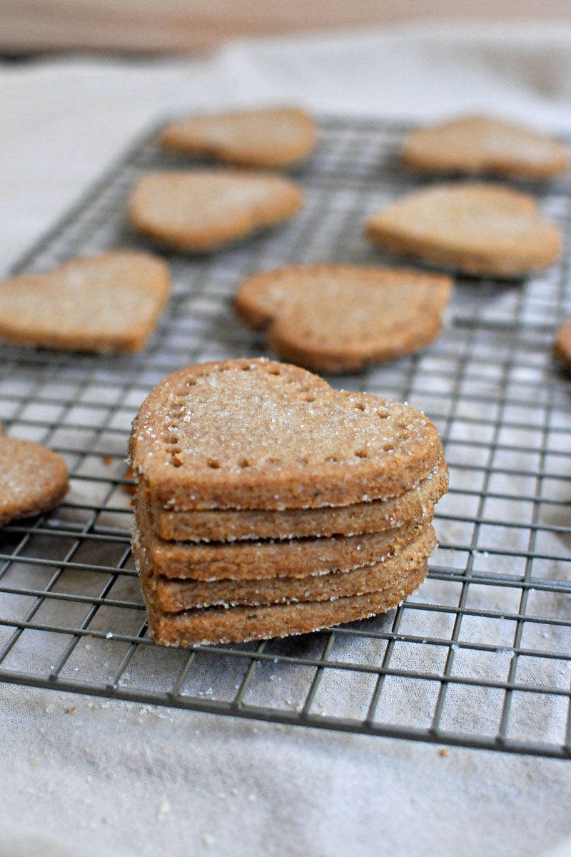 Whole Wheat Rosemary-Mustard Shortbread Cookies   the pig & quill