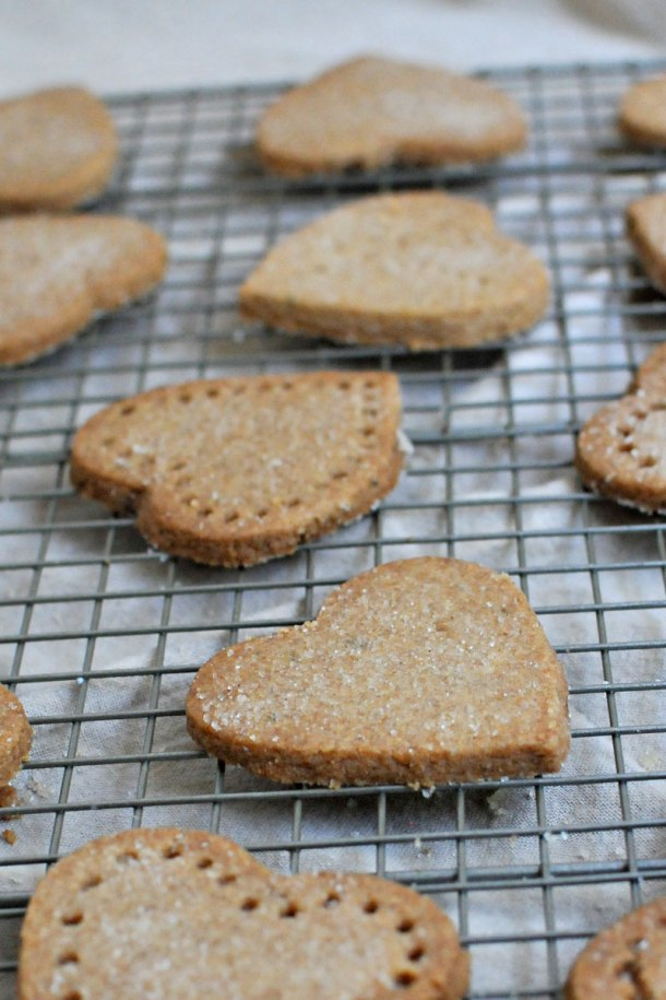Whole Wheat Rosemary-Mustard Shortbread Cookies | the pig & quill