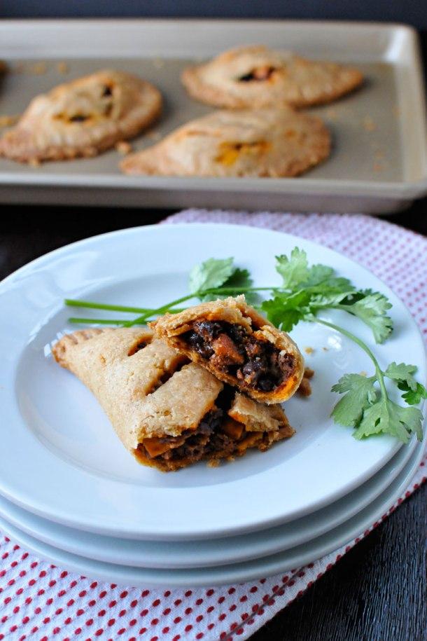 Spicy Soyrizo & Black Bean Empanadas | the pig & quill