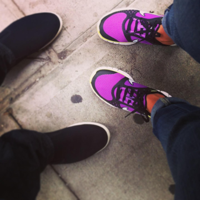NYC Foodie Trip Day 3 - Nike Free Run