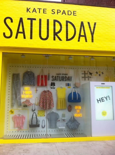 NYC Foodie Trip Day 3 - Kate Spade Saturday