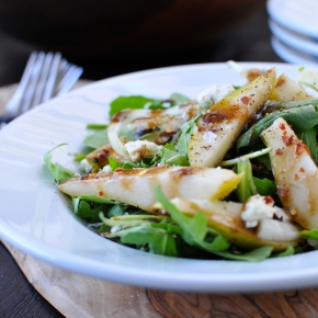Pear & Fennel Salad with Blue Cheese &Balsamic