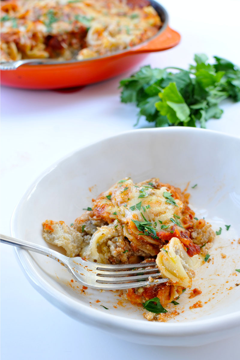 Eggplant-Ricotta Pasta Bake   the pig & quill