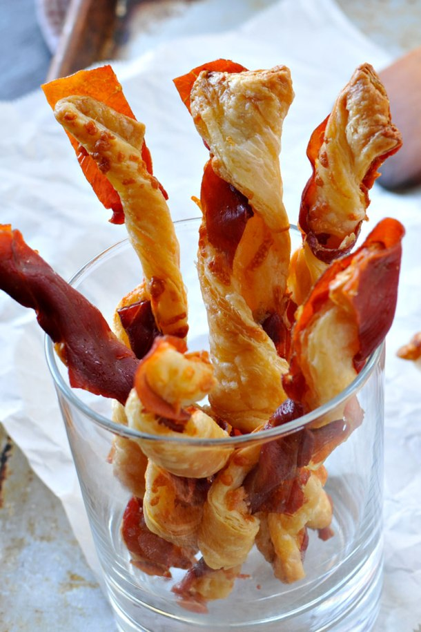 Spicy Prosciutto Cheese Straws | the pig & quill