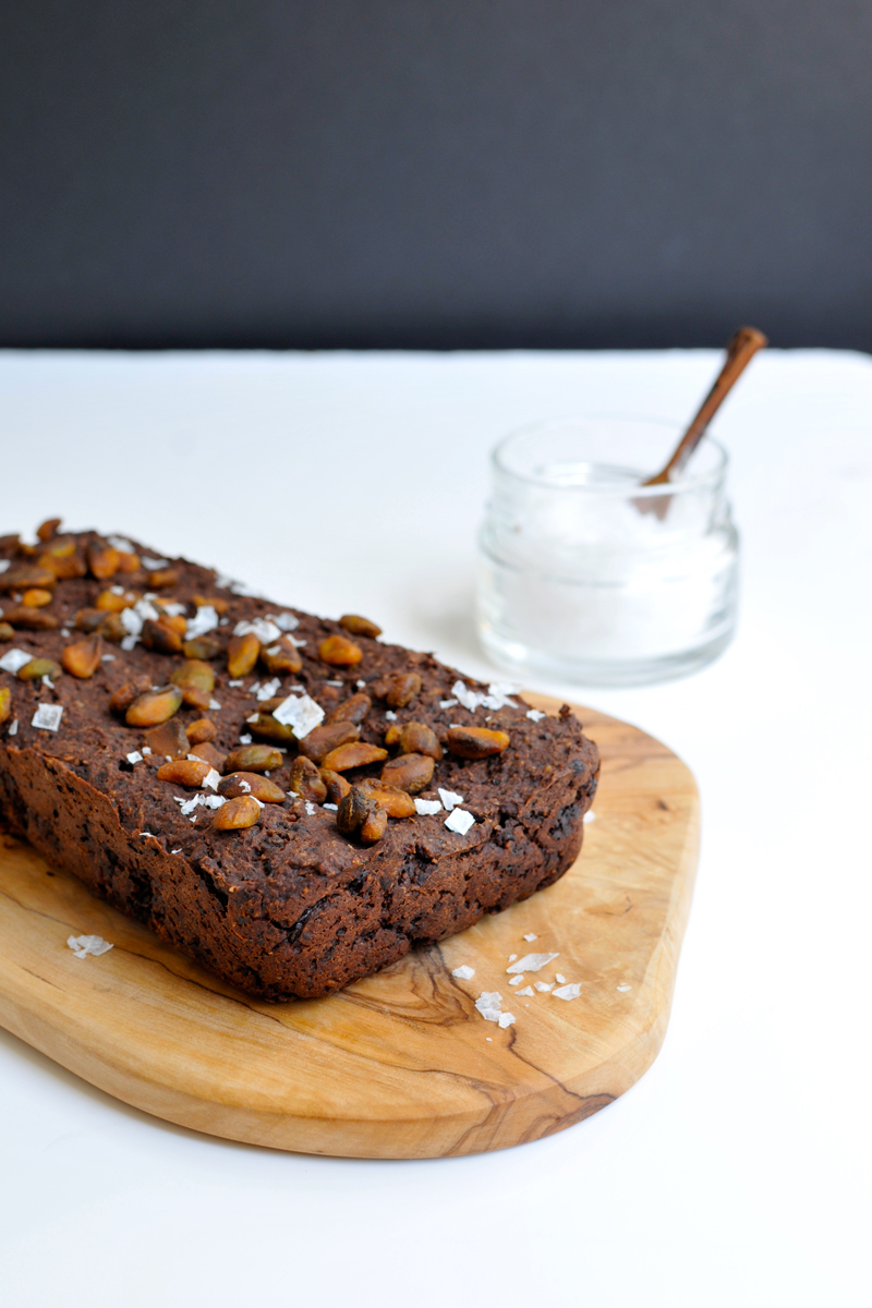 Salted Chocolate & Pistachio Energy Bars (vegan with GF variation)   the pig & quill