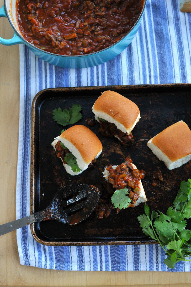 Veggie Joe Sliders (totally vegan-able!) // the pig & quill