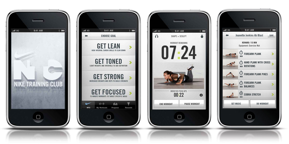 the pig & quill - Nike Training Club app