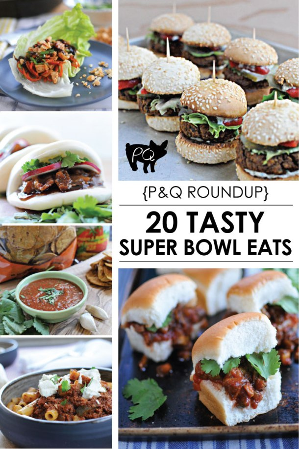 Super Bowl Roundup: 20 Tasty Eats for the Big Game // the pig & quill