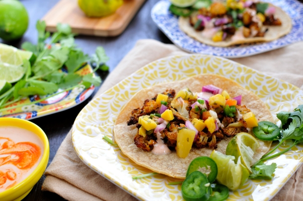 roasted cauliflower street tacos and other Cinco de Mayo faves // the pig & quill