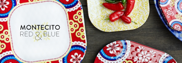 Q Squared NYC Montecito - high-quality, affordable melamine dishware for the modern home - love this! // www.thepigandquill.com