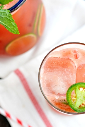 Jalapeño Watermelon Agua Fresca – a drinko for Cinco