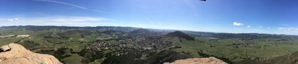 "Bishop's Peak, San Luis Obispo (""Hooky, Housekeeping...and a haiku"") // the pig & quill"