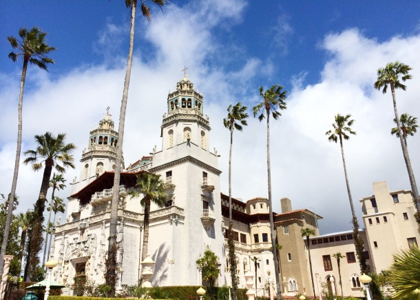 """Hearst Castle, San Simeon (""""Hooky, Housekeeping...and a haiku"""") // the pig & quill"""