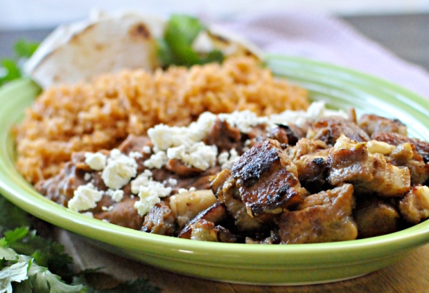 crispy carnitas-style pork belly & spanish rice and other Cinco de Mayo faves // the pig & quill