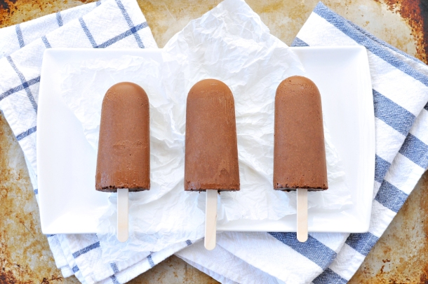 Mexican Mocha Fudge Pops | the pig & quill | #popsicleweek #vegan