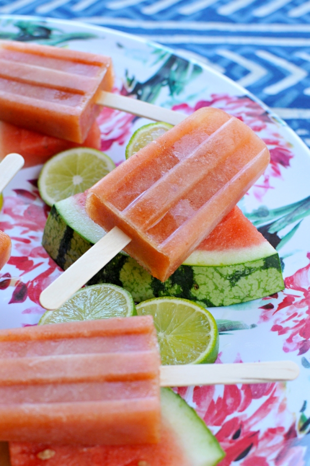 Chile-Lime Watermelon Paletas | the pig & quill | #vegan #paleoish #gf #summer