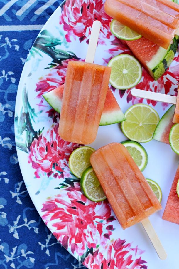 Chile-Lime Watermelon Paletas | the pig & quill | #vegan #paleoish #gf #summer